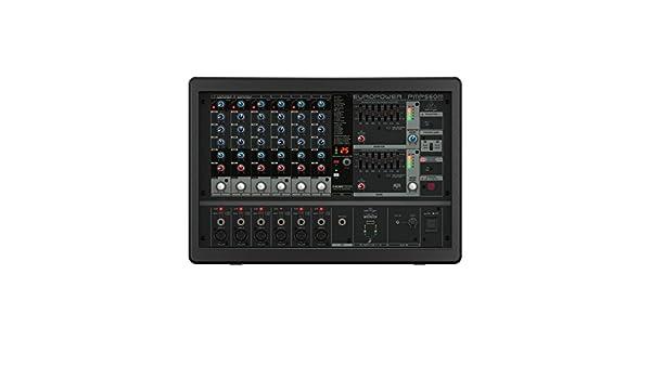 Behringer PMP560M - Mesa de mezclas autoamplificada: Amazon.es ...