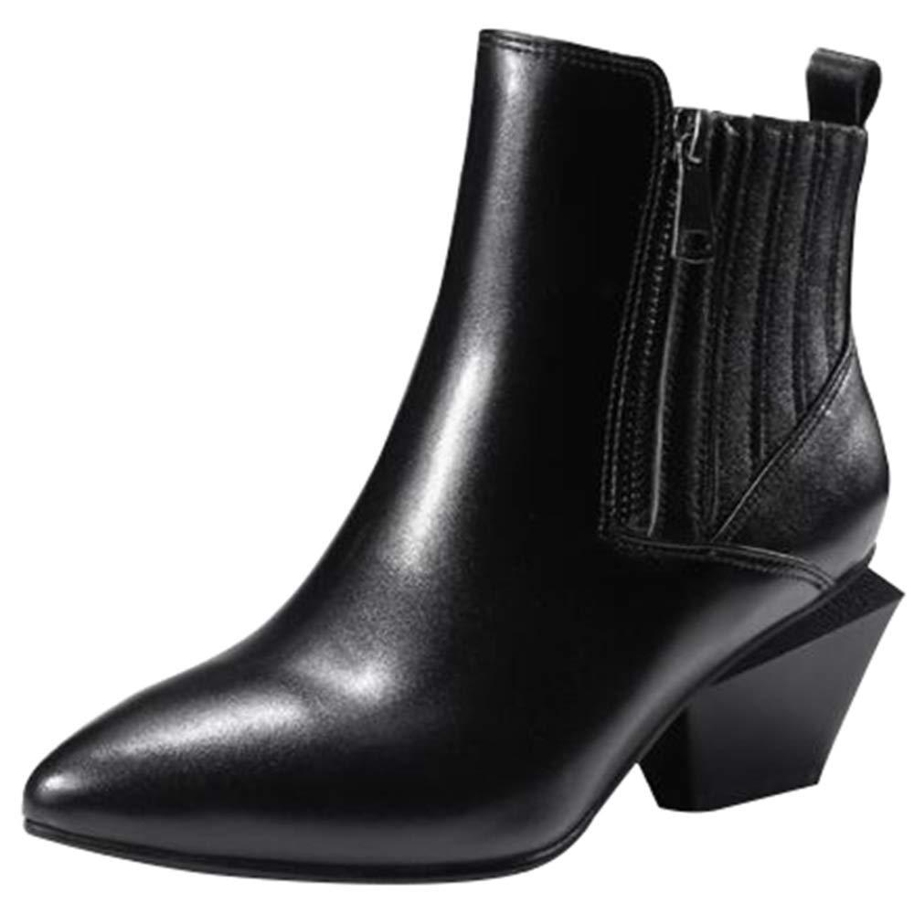 YIWANGO Stiefel Stiefeletten Female Stiefel Ankle Stiefel Elastische Seite Zip Winter Stiefelies
