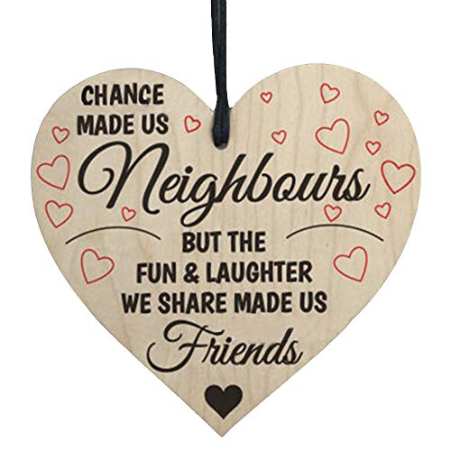 Lovewe Christmas Pendant Hanging,Wooden Hanging Gift Plaque Pendant Family Friendship Love Sign Wine Tags Decor