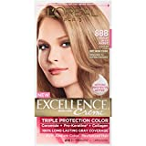 L'Oreal Excellence Triple Protection Color Creme Haircolor,8BB Medium Beige Blonde