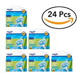Equate 5-Blade Razor Cartridges - Compare to Venus Embrace (value pack) (6 Pack of 4 Cartridges)