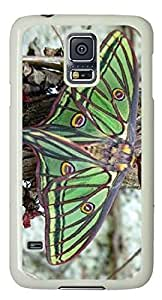 Beautiful butterfly Easter Thanksgiving Personlized Masterpiece Limited Design PC White Case for Samsung Galaxy S5 I9600 by Cases & Mousepads