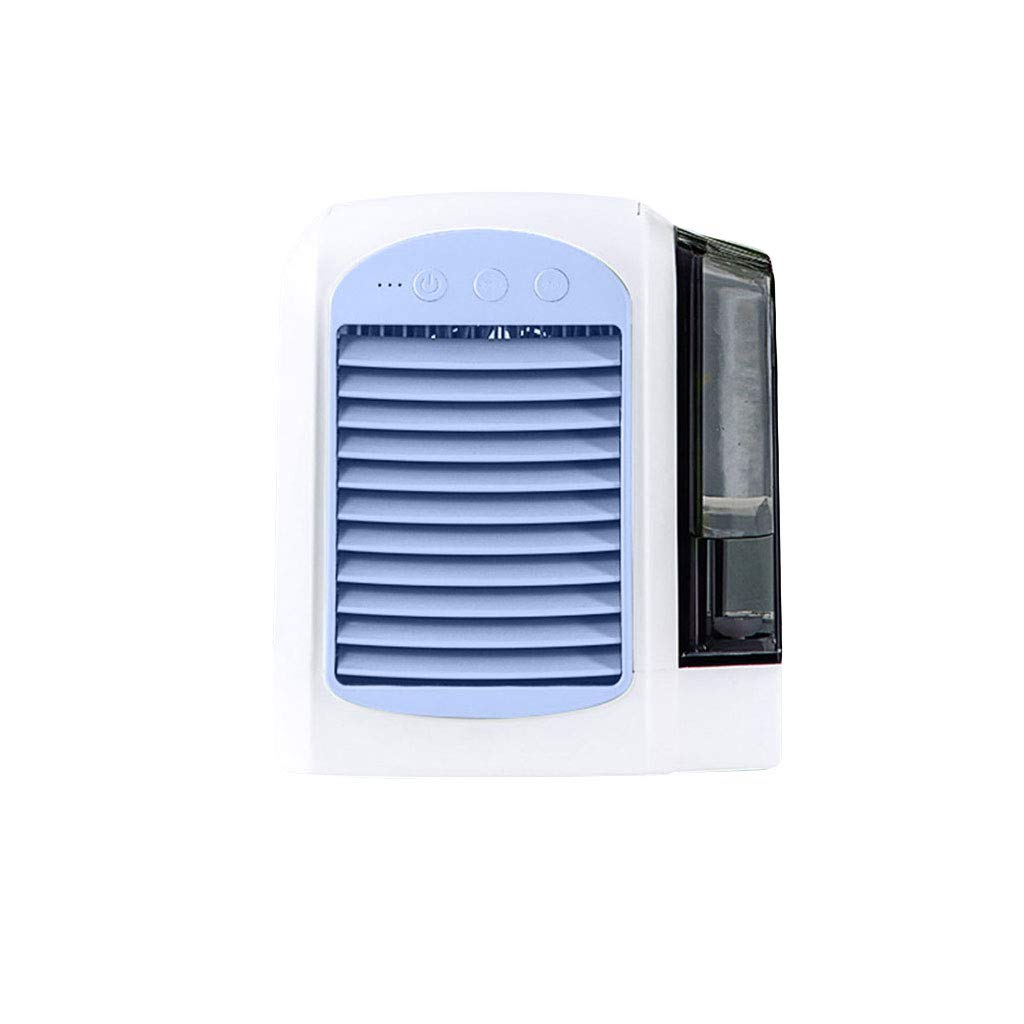 Wqingng 3 in 1 Mini Portable Air Cooler Humidifier Moist USB Air Conditioner Office Cooler Purifier Suitable for Home Office by Wqingng