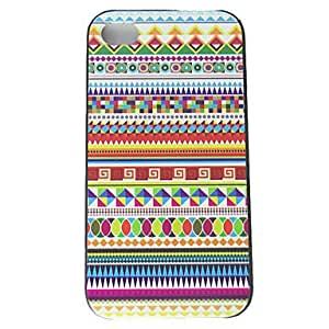 Colorful Texture Pattern Hard Cases for iPhone 4/4S