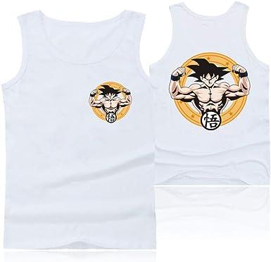 Camisetas sin Mangas de Moda Dragon Ball Chaleco de Verano de ...