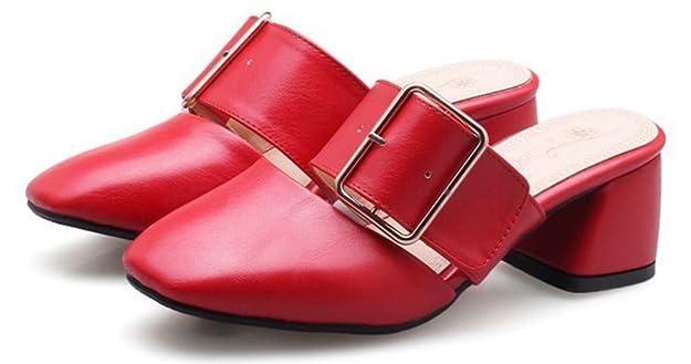 Easemax Femme Nouveau Lanière Bout Fermé Mules  Amazon.fr  Chaussures et  Sacs 265549195ea8