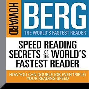 Speed Reading Secrets of the World's Fastest Reader Audiobook