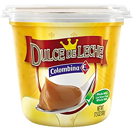Amazon.com : Colombina Dulce de Leche Arequipe 500g 5 Pack : Grocery & Gourmet Food