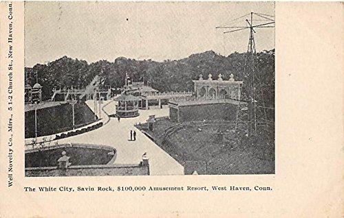 The White City  100 000 Amusement Resort West Haven  Connecticut  Ct  Usa Postcard Post Card
