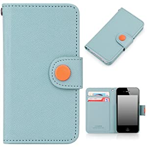 iphone 4s cases amazon button wallet for apple iphone 4 4s co uk 14423