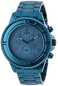 Versus by Versace Men's SGN050013 Tokyo Stainless Steel Luminous Hands Chronograph Date Watch