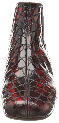Chie Mihara quinto - botas de piel mujer rojo - Rot (bosco granate)