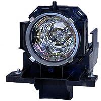 V7 78-6969-9930-5 , 456-8948 , DT00871 , SP-LAMP-038 , 997-5214-00 , RLC-038 Original Bulb Inside Replacement Lamp with Housing for 3M, DUKANE, HITACHI, HUSTEM, INFOCUS, PLANAR & VIEWSONIC Projectors 3M X95 ; DUKANE I-PRO 8943a, I-PRO 8948 ; HITACHI CP-X615, CP-X705, CP-X807 ; HUSTEM MVP-E50, MVP-E90, MVP-S40+, MVP-T50, RF-4000G+, RF-5000 ; INFOCUS C500, IN5102, IN5106 ; PLANAR PD9020, PR9020 ; VIEWSONIC PJ1173