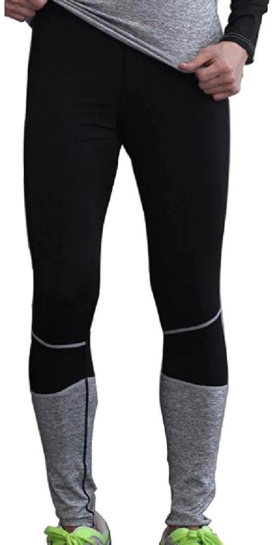 YUNY Mens Fashion Athletic Fit Wicking Buttery Soft Yoga Jeggings 3 2XL