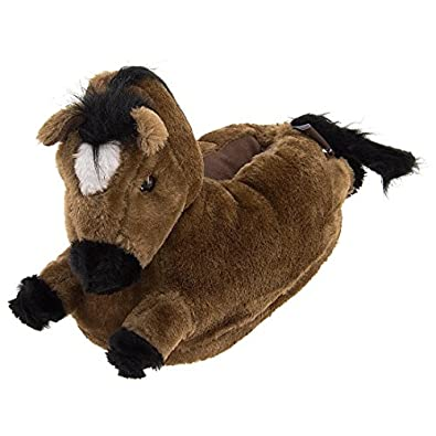 Amazon Com Horse Animal Slippers For Women And Men