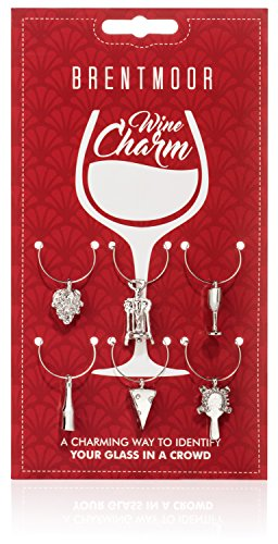 Wine Charms Glasses Accessories Identifiers