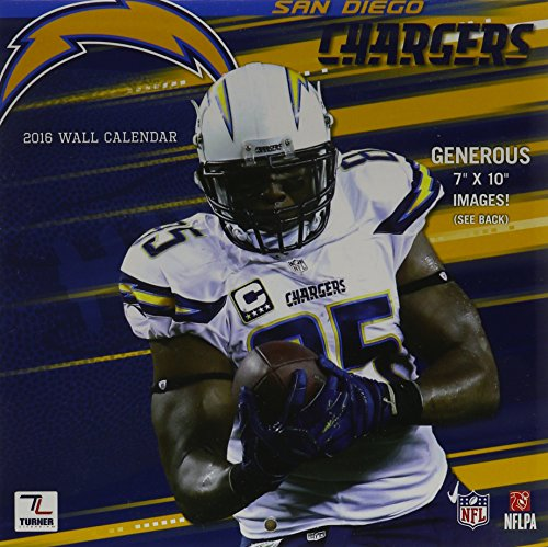 San Diego Chargers 2016 (San Diego Chargers Calendar)