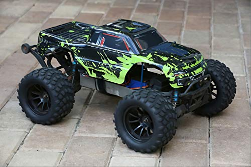 SummitLink Compatible Custom Body Muddy Green Over Black Replacement for 1/10 Scale RC Car or Truck (Truck not Included) ()