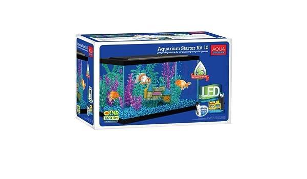 Amazon.com : Aqua Culture 10-gallon Aquarium Starter Kit by Aquaculture : Pet Supplies
