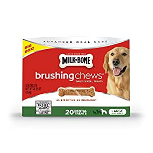 Amazon.com : Milk-Bone Brushing Chews Daily Dental Dog