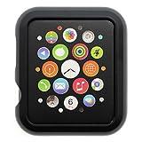 VANKER 1Pc Black Ultrathin Slim Waterproof Protective Case Cover for Apple Watch iWatch 42mm