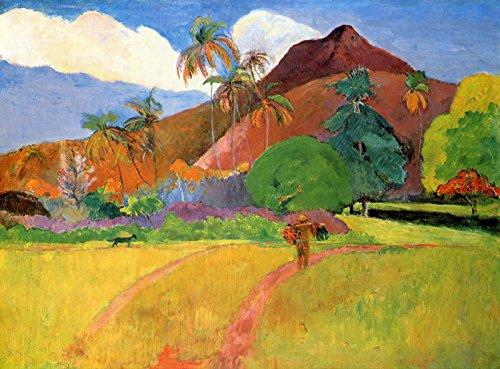 Paul Gauguin - Tahitian Landscape - Minneapolis Institute of Arts 30