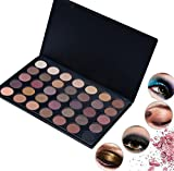 35 Colors Pro Eyeshadow Palette Big Promotion!ZYooh Fashion Shimmer Matte Eyeshadow Palette Makeup Powder With Brush