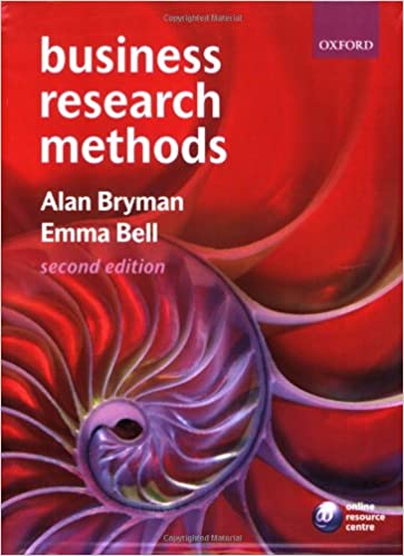 Business research methods alan bryman emma bell 9780199284986 business research methods alan bryman emma bell 9780199284986 amazon books fandeluxe Image collections