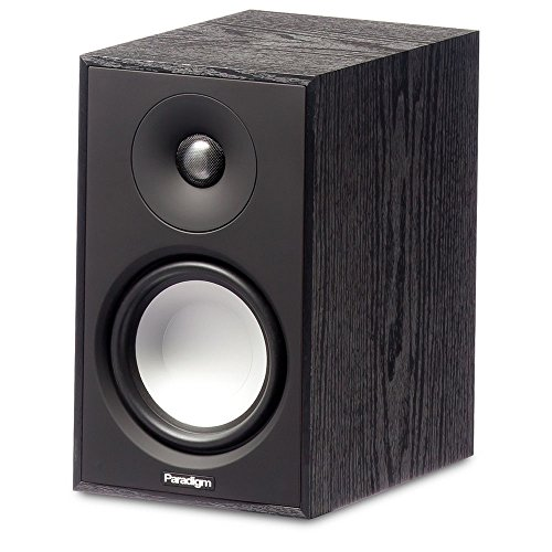 Paradigm Atom Monitor v7 Bookshelf Speaker in Black Ash (Single)