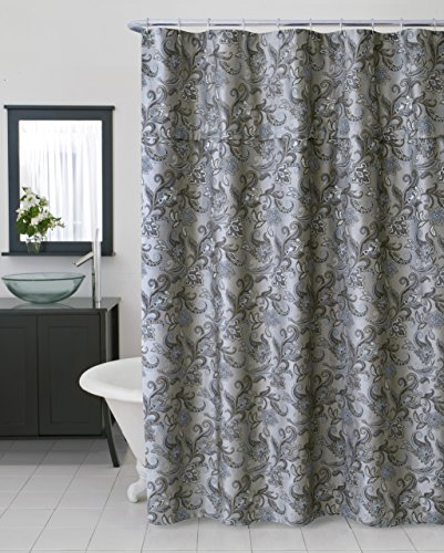 SAM HEDAYA Bella Extra Shower Curtain, Long
