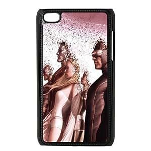 X Men Comic iPod Touch 4 Case Black TPU Phone Case SV_122948