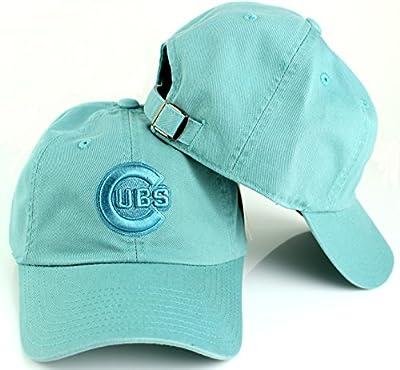 Chicago Cubs MLB American Needle Tonal Ballpark Slouch Cotton Twill Adjustable Hat (Seafoam)