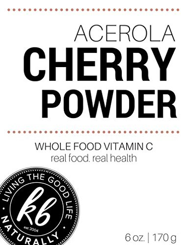 Acerola Cherry Powder 6oz. By Living The Good Life Naturally
