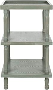 Safavieh American Homes Collection Esmeralda Shady White Side Table