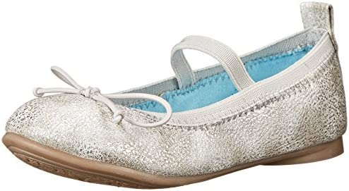 ** Kenneth Cole Reaction Copy Tap Ballet Flat Big girl/'s taille 4 Or Rose Nouveau
