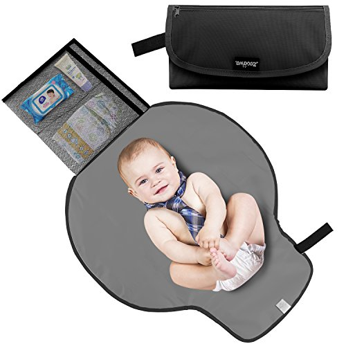 Zooawa Portable Diaper Changing Pad Mat Waterproof Folding S
