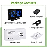 Mpow Digital Alarm Clock, 5'' Curved LED Screen, 6