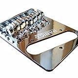 Babicz FCHTELECHP  Full Contact Hardware, Telecaster Bridge, Chrome