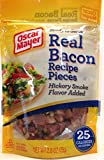 Oscar Mayer Real Bacon Pieces with Hickory Smoke Flavor (2 Pack) 2.8 oz Bags
