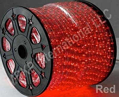 RED 12 V Volts DC LED Rope Lights Auto Lighting 25 Meters(82 Feet)