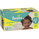 Pampers Swaddlers Disposable Diapers Size 6, 108 Count