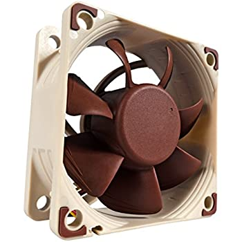 Noctua NF-A6x25 FLX, 3-Pin Premium Cooling Fan (60mm, Brown)