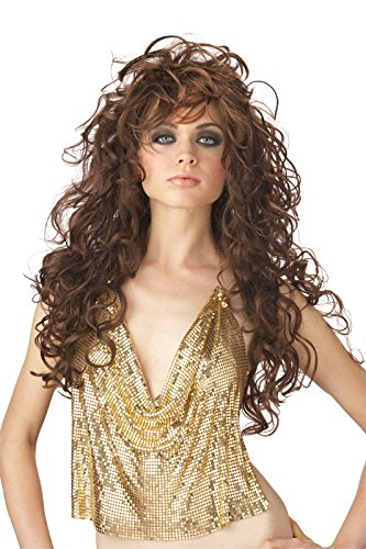 California Costumes Women's Seduction Wig,Brown,One Size (Brunette Halloween Costumes)