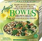 Amy's Bowls, Black-Eyed Peas & Veggies, 9 oz (Frozen)