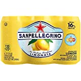 Sanpellegrino Lemon Sparkling Fruit Beverage, 11.15 fl oz. Cans (6 Count)