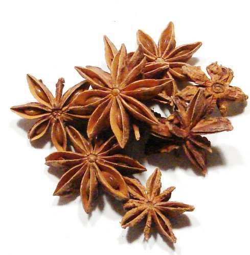 Star Anise, Whole - 1/2 Pound (8 Ounces ) - Bulk Dried Star Anise Pods Culinary Spice