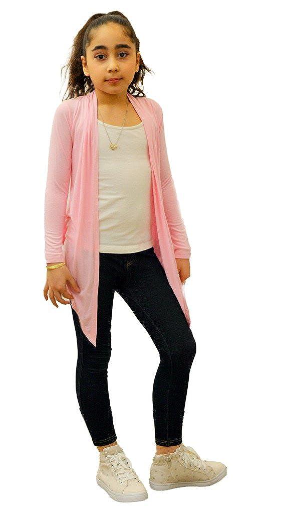 Dinamit Jeans Big Girls 3 Pack Long Sleeve Flyaway Cardigan Sweater 3-Pack
