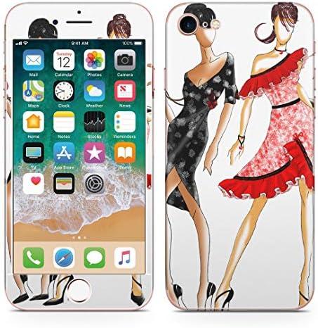 igsticker iPhone SE 2020 iPhone8 iPhone7 専用 スキンシール 全面スキンシール フル 背面 側面 正面 液晶 ステッカー 保護シール 013286 女性 ファッション おしゃれ