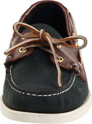Zapatillas Náuticas Sebago Para Hombre Spinnaker Azul / Marrón