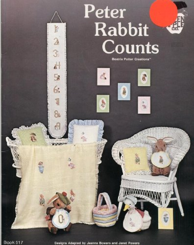 (Peter Rabbit Counts: Beatrix Potter Creations (Cross Stitch, Needlepoint) (Green Apple, Book)